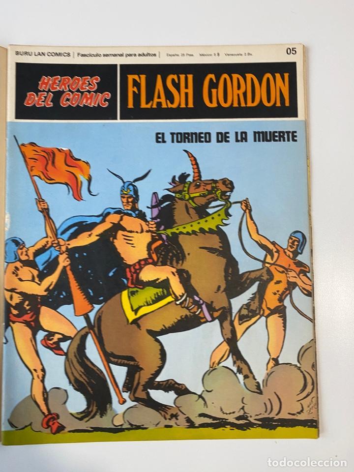 Cómics: FLASH GORDON. BURU LAN COMICS. SOLO LAS PORTADAS. TOMO 1. FASCÍCULOS DEL Nº 01 AL 010. VER FOTOS - Foto 6 - 273434343