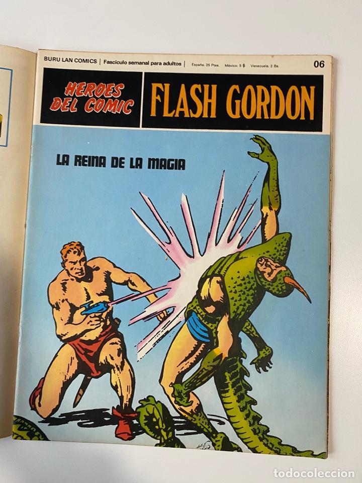 Cómics: FLASH GORDON. BURU LAN COMICS. SOLO LAS PORTADAS. TOMO 1. FASCÍCULOS DEL Nº 01 AL 010. VER FOTOS - Foto 7 - 273434343