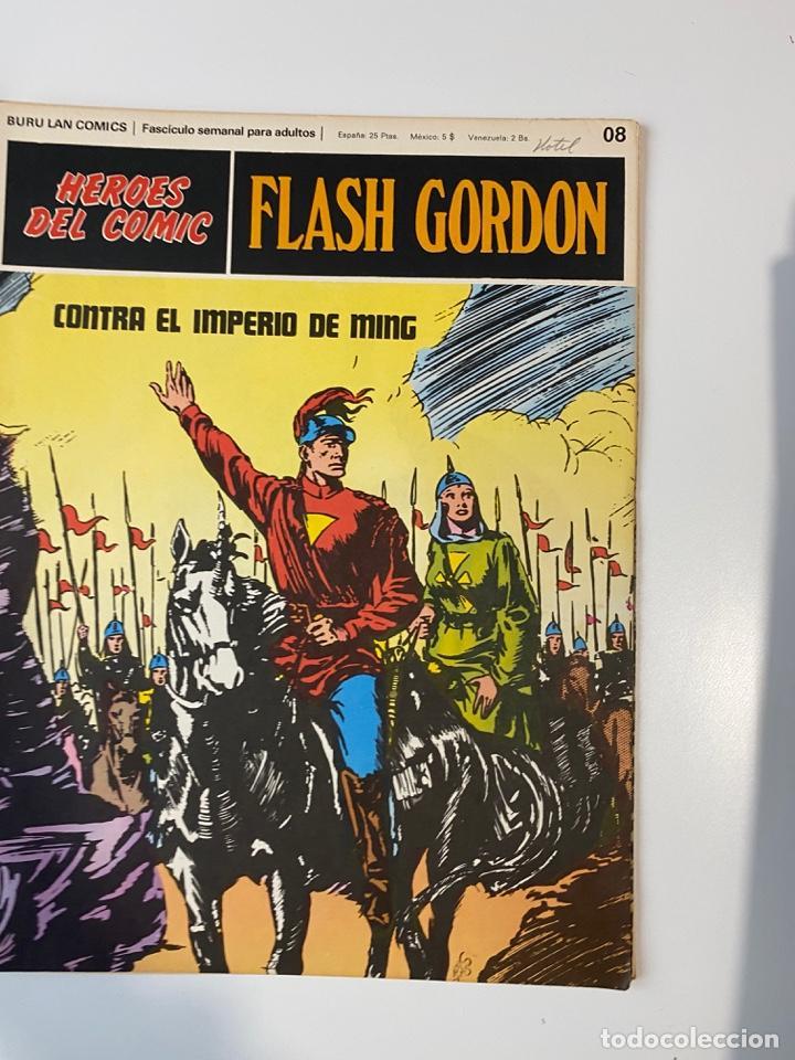 Cómics: FLASH GORDON. BURU LAN COMICS. SOLO LAS PORTADAS. TOMO 1. FASCÍCULOS DEL Nº 01 AL 010. VER FOTOS - Foto 9 - 273434343