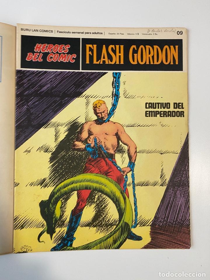 Cómics: FLASH GORDON. BURU LAN COMICS. SOLO LAS PORTADAS. TOMO 1. FASCÍCULOS DEL Nº 01 AL 010. VER FOTOS - Foto 10 - 273434343