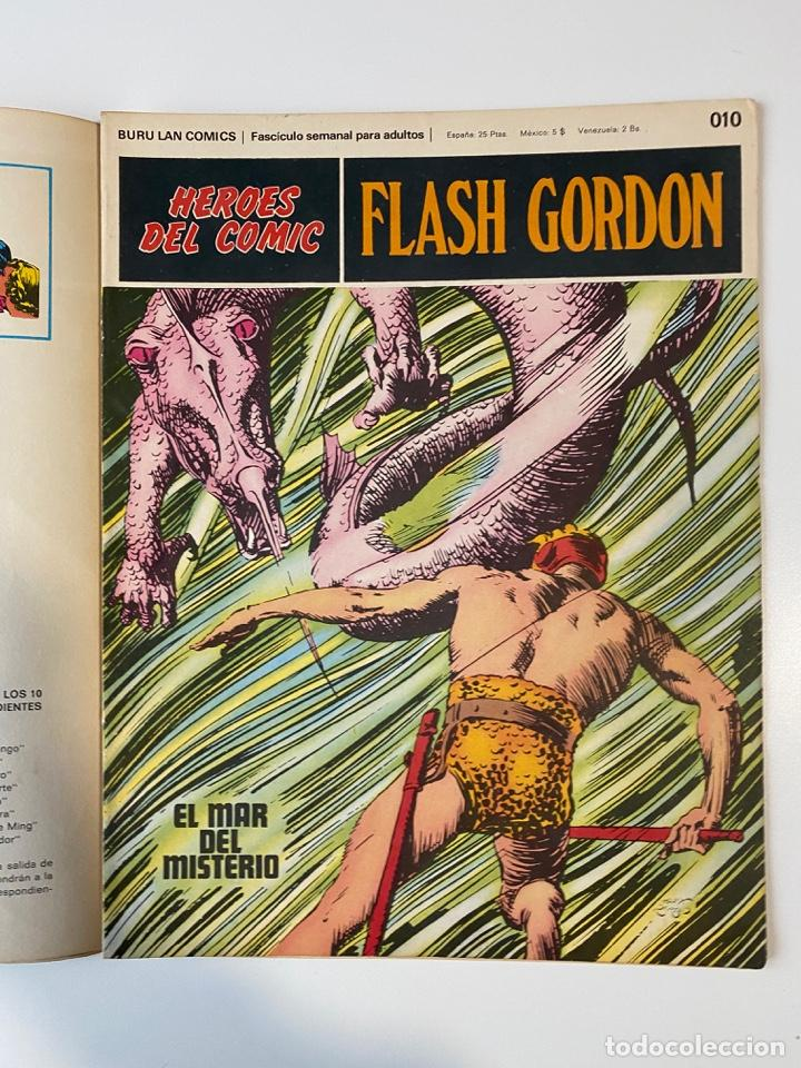 Cómics: FLASH GORDON. BURU LAN COMICS. SOLO LAS PORTADAS. TOMO 1. FASCÍCULOS DEL Nº 01 AL 010. VER FOTOS - Foto 11 - 273434343