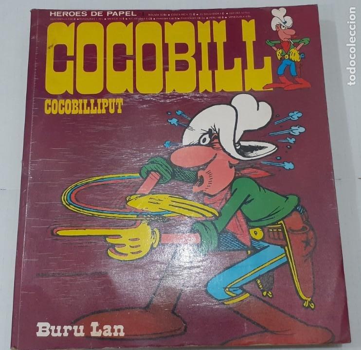 JACOVITTI - COCOBILL - COCOBILLIPUT - BURU LAN 1973 - COLECCION HEROES DE PAPEL Nº 1, MUY DIFICIL (Tebeos y Comics - Buru-Lan - Otros)