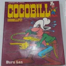 Cómics: JACOVITTI - COCOBILL - COCOBILLIPUT - BURU LAN 1973 - COLECCION HEROES DE PAPEL Nº 1, MUY DIFICIL. Lote 235302305