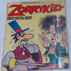 Cómics: JACOVITTI - ZORRYKID Nº 2 - ZORRY CONTRA ZORRY - BURU LAN 1974 - COL. HEROES DE PAPEL Nº 10, DIFICIL. Lote 235303780