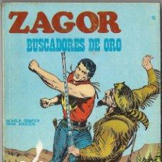 Comics : ZAGOR: Nº 10. BUSCADORES DE ORO. BURU LAN EDICIONES. Lote 55145961