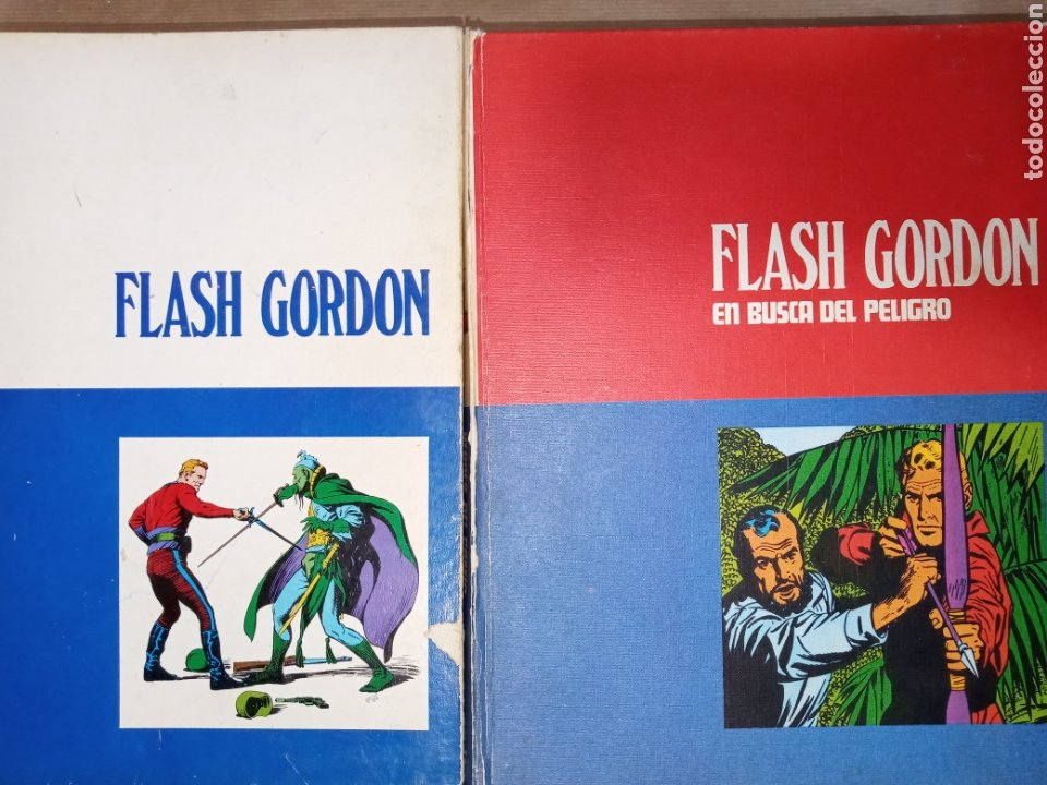 LOTE FLASH GORDON TOMOS DEL 1 AL 6 (Tebeos y Comics - Buru-Lan - Flash Gordon)