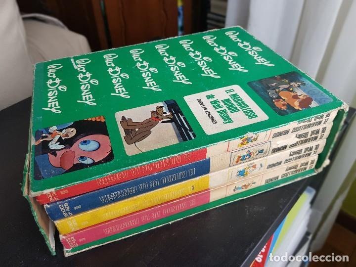 LOTE 4 TEBEOS / CÓMIC COLECCIÓN EL MARAVILLOSO MUNDO DE WALT DISNEY BURU LAN 1972 (Tebeos y Comics - Buru-Lan - Otros)