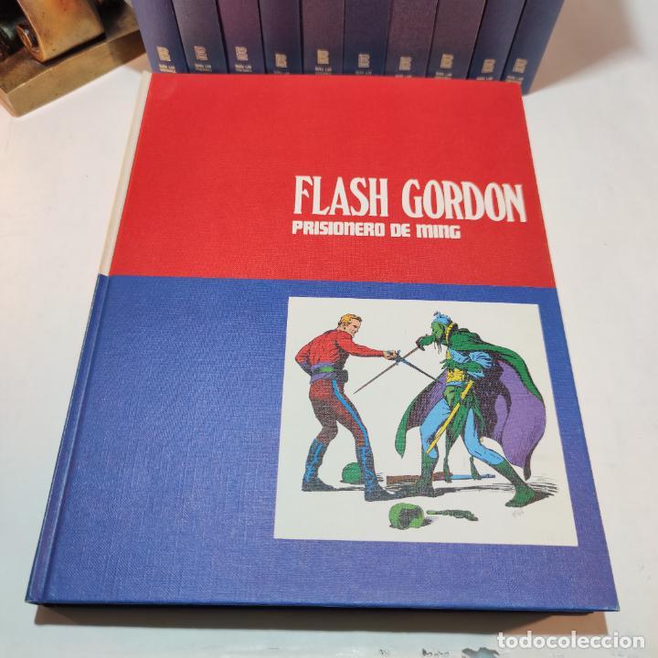 Cómics: Colección Flash Gordon completa. Buru lan. Perfecto estado de conservación. 11 tomos. 1972. - Foto 2 - 236540545