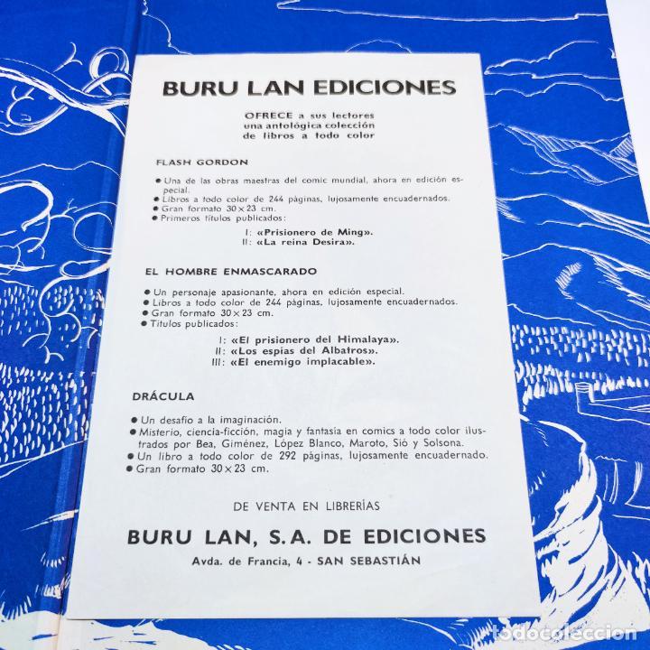 Cómics: Colección Flash Gordon completa. Buru lan. Perfecto estado de conservación. 11 tomos. 1972. - Foto 3 - 236540545