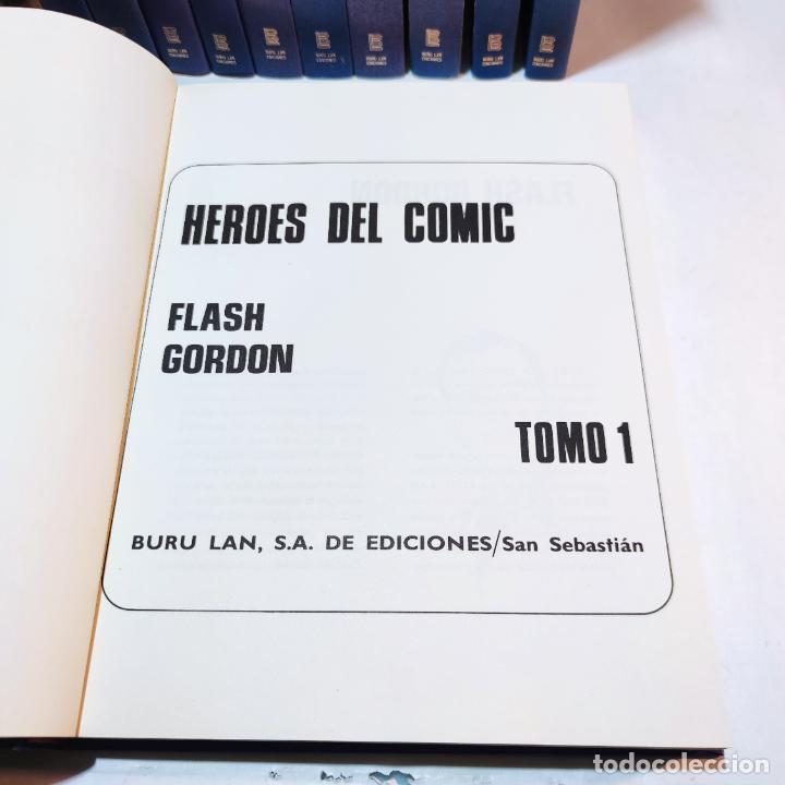 Cómics: Colección Flash Gordon completa. Buru lan. Perfecto estado de conservación. 11 tomos. 1972. - Foto 4 - 236540545