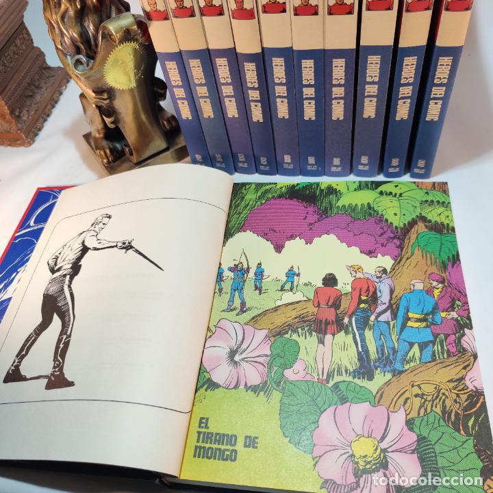 Cómics: Colección Flash Gordon completa. Buru lan. Perfecto estado de conservación. 11 tomos. 1972. - Foto 5 - 236540545
