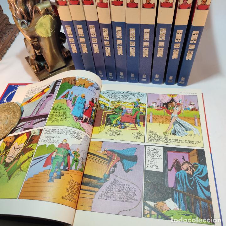 Cómics: Colección Flash Gordon completa. Buru lan. Perfecto estado de conservación. 11 tomos. 1972. - Foto 6 - 236540545