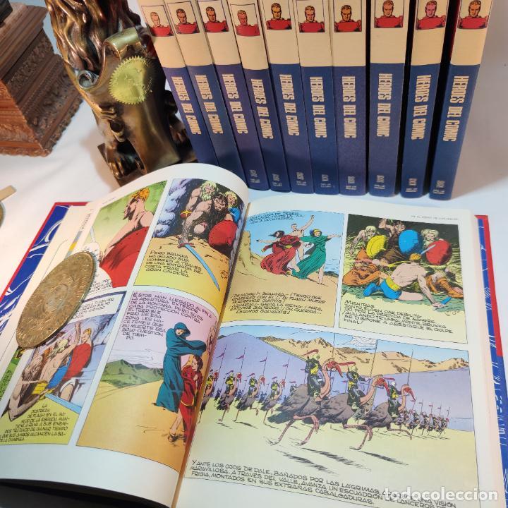 Cómics: Colección Flash Gordon completa. Buru lan. Perfecto estado de conservación. 11 tomos. 1972. - Foto 7 - 236540545