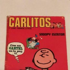 Cómics: CARLITOS Y LOS CEBOLLITAS Nº 3 - SNOOPY ESCRITOR - BURU LAN AÑO 1971. Lote 236847930