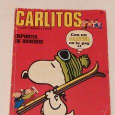 Cómics: CARLITOS Y LOS CEBOLLITAS Nº 8 - DEPORTES DE INVIERNO - BURU LAN AÑO 1971. Lote 236848030
