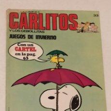 Cómics: CARLITOS Y LOS CEBOLLITAS Nº 33 - JUEGOS DE INVIERNO - BURU LAN AÑO 1972. Lote 236848260