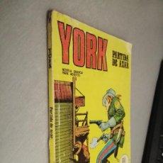 Cómics: YORK Nº 6: PARTIDA DE AZAR / BURU LAN. Lote 237170500