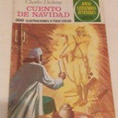 Cómics: JOYAS LITERARIAS JUVENILES Nº 90 CUENTO DE NAVIDAD- CHARLES DICKENS- BRUGUERA AÑO 1977. Lote 237190785