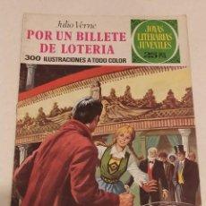Cómics: JOYAS LITERARIAS JUVENILES Nº 78 POR UN BILLETE DE LOTERIA- JULIO VERNE- BRUGUERA AÑO 1977. Lote 237191135