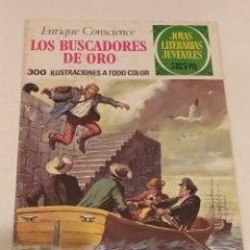 Cómics: JOYAS LITERARIAS JUVENILES Nº 99 BUSCADORES DE ORO- ENRIQUE CONSCIENCE- BRUGUERA AÑO 1977. Lote 237191960