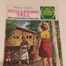 Cómics: JOYAS LITERARIAS JUVENILES Nº 102 GUILLERMO TELL- JOHAN SCHILLER- BRUGUERA AÑO 1977. Lote 237192465