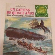 Cómics: JOYAS LITERARIAS JUVENILES Nº 101 UN CAPITAN DE QUINCE AÑOS- JULIO VERNE- BRUGUERA AÑO 1977. Lote 237192770