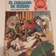 Cómics: JOYAS LITERARIAS JUVENILES Nº 4 EL CORSARIO DE HIERRO- EN LA BOCA DEL LOBO - BRUGUERA AÑO 1977. Lote 237193225
