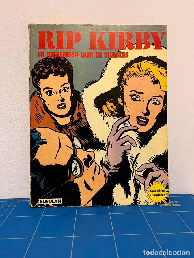 LOTE RIP KIRBY 1974 3 VOLÚMENES (Tebeos y Comics - Buru-Lan - Rip Kirby)