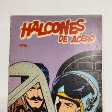 Cómics: HALCONES DE ACERO. VETOL. BURULAN EDICIONES. NAVARRA, 1973. EPISODIOS COMPLETOS.. Lote 238590745