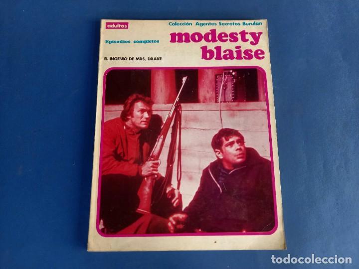 MODESTY BLAISE TOMO Nº 3 - BURU-LAN (Tebeos y Comics - Buru-Lan - Modesty Blaise)