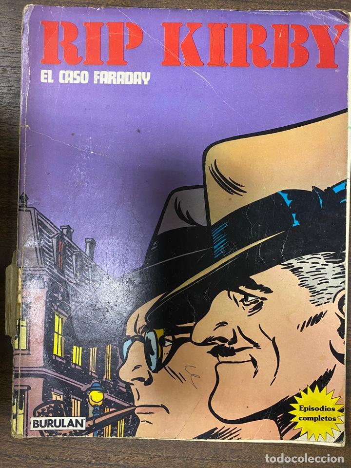 RIP KIRBY. EL CASO FARADAY. EPISODIOS COMPLETOS. BURULAN. (Tebeos y Comics - Buru-Lan - Rip Kirby)