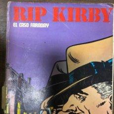 Cómics: RIP KIRBY. EL CASO FARADAY. EPISODIOS COMPLETOS. BURULAN.. Lote 239585875