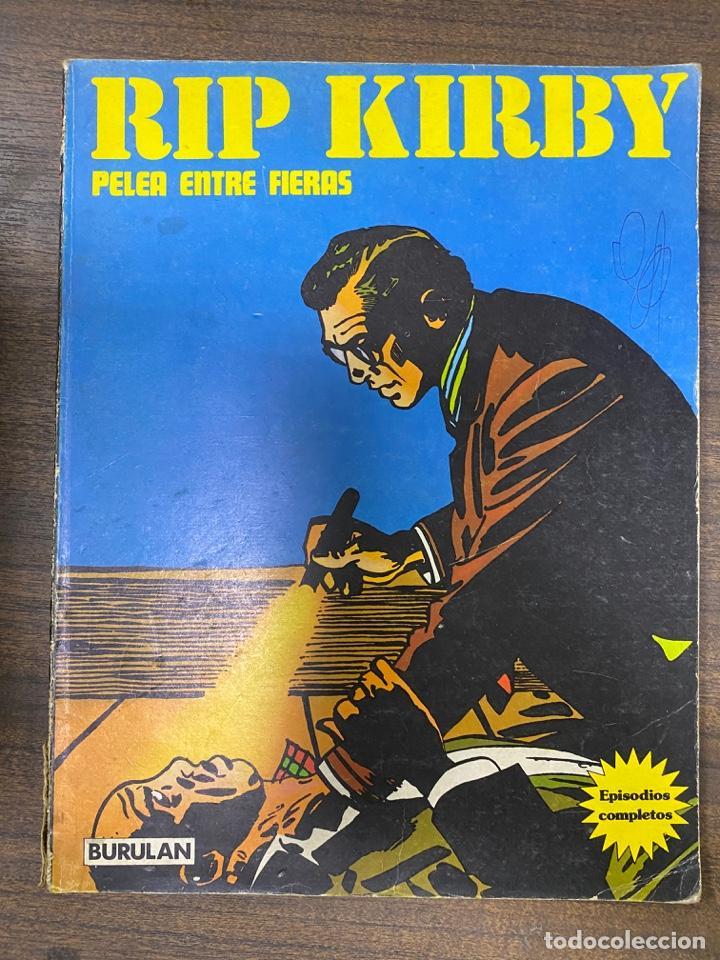 RIP KIRBY. PELEA ENTRE FIERAS. EPISODIOS COMPLETOS. BURULAN. (Tebeos y Comics - Buru-Lan - Rip Kirby)