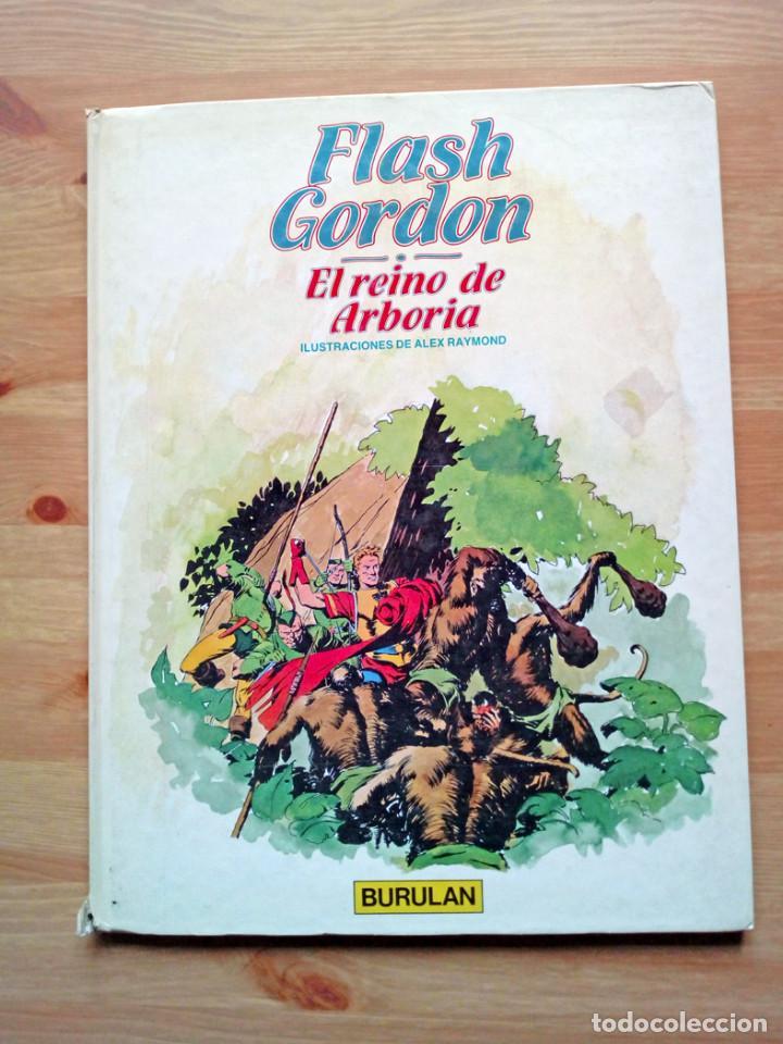 Cómics: FLASH GORDON. HEROES DE PAPEL. DE LA TIERRA A MONGO. - FLASH GORDON. EL REINO DE ARBORIA. - Foto 3 - 239600630
