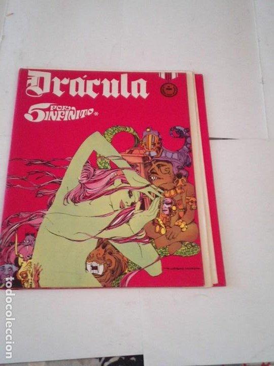 DRACULA - TAPAS PARA ENCUADERNAR EL TOMO 3 - BURU LAN - MUY BUEN ESTADO - COMPLETO - GORBAUD (Tebeos y Comics - Buru-Lan - Drácula)