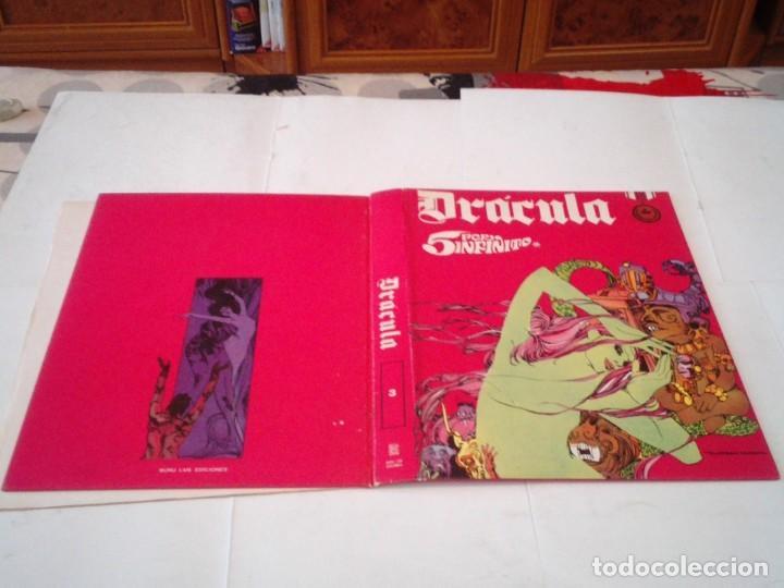 Cómics: DRACULA - TAPAS PARA ENCUADERNAR EL TOMO 3 - BURU LAN - MUY BUEN ESTADO - COMPLETO - GORBAUD - Foto 3 - 239940215