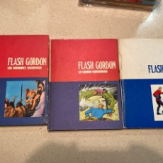 Cómics: 3 TOMOS FLASH GORDON BURU LAN 1972. Lote 240219615