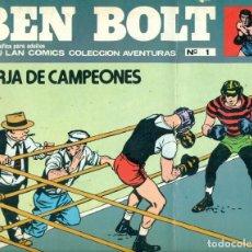 Cómics: BEN BOLT DE BURU LAN 12 EJEMPLARES COMPLETA. Lote 240259755