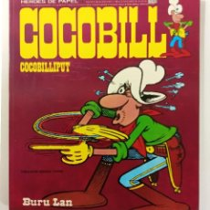 Cómics: COCOBILL N°1 COCOBILLIPUT - HÉROES DE PAPEL - JACOVITTI - BURULAN - 1973 - 40 PAGINAS A TODO COLOR. Lote 241980635