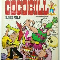 Cómics: COCOBILL N° 4 OJO DE POLLO - HÉROES DE PAPEL - JACOVITTI - BURULAN - 40 PAGINAS COLOR 1973. Lote 241984530