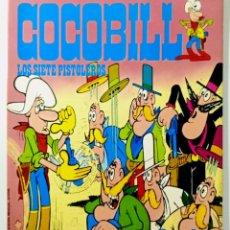 Cómics: COCOBILL N° 6 LOS SIETE PISTOLEROS - HÉROES DE PAPEL - JACOVITTI - BURULAN - 40 PAGINAS COLOR 1973. Lote 241991630