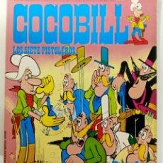 Cómics: COCOBILL N° 6 LOS SIETE PISTOLEROS - HÉROES DE PAPEL - JACOVITTI - BURULAN - 40 PAGINAS COLOR 1973. Lote 241991670