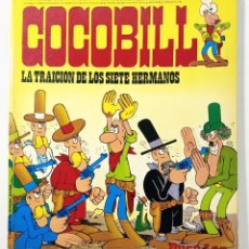 Cómics: COCOBILL N° 7 LA TRAICION DE LOS SIETE HERMANOS - HÉROES DE PAPEL - JACOVITTI - BURULAN - 1973. Lote 241992395