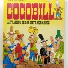 Cómics: COCOBILL N° 7 LA TRAICION DE LOS SIETE HERMANOS - HÉROES DE PAPEL - JACOVITTI - BURULAN - 1973. Lote 241992620