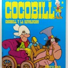 Cómics: COCOBILL N° 9 COCOBILL Y LA REVOLUCIÓN - HÉROES DE PAPEL - JACOVITTI - BURULAN - 1974 - RUSTICA. Lote 241995560