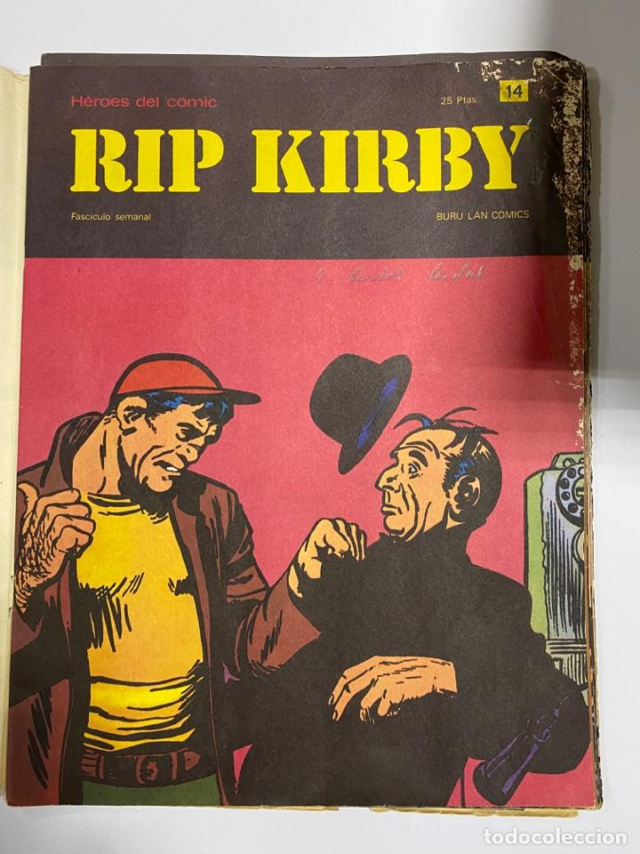 Cómics: RIP KIRBY. BURU LAN COMICS. SOLO LAS PORTADAS. TOMO 2. FASCÍCULOS DEL Nº 13 AL 24. VER FOTOS - Foto 2 - 242087265