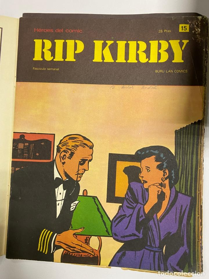 Cómics: RIP KIRBY. BURU LAN COMICS. SOLO LAS PORTADAS. TOMO 2. FASCÍCULOS DEL Nº 13 AL 24. VER FOTOS - Foto 3 - 242087265