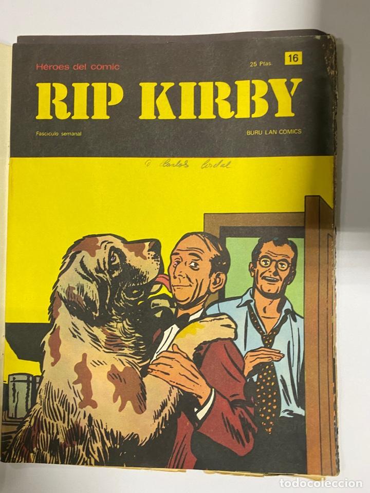 Cómics: RIP KIRBY. BURU LAN COMICS. SOLO LAS PORTADAS. TOMO 2. FASCÍCULOS DEL Nº 13 AL 24. VER FOTOS - Foto 4 - 242087265