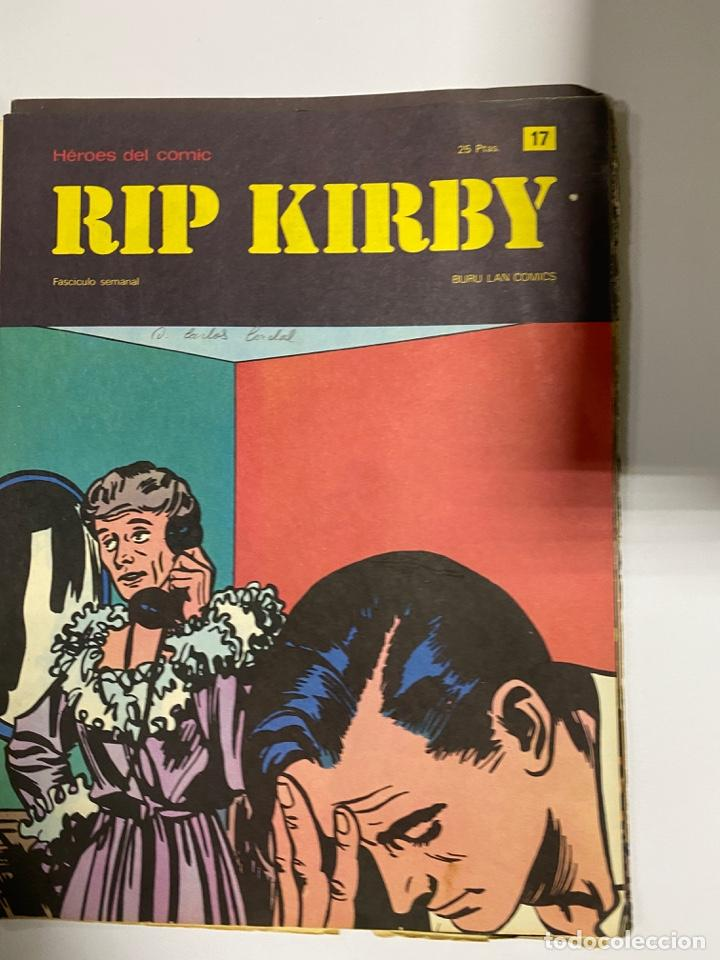 Cómics: RIP KIRBY. BURU LAN COMICS. SOLO LAS PORTADAS. TOMO 2. FASCÍCULOS DEL Nº 13 AL 24. VER FOTOS - Foto 5 - 242087265