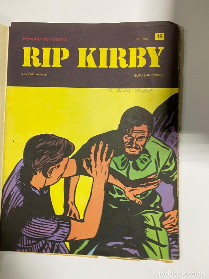 Cómics: RIP KIRBY. BURU LAN COMICS. SOLO LAS PORTADAS. TOMO 2. FASCÍCULOS DEL Nº 13 AL 24. VER FOTOS - Foto 6 - 242087265